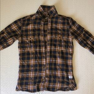 Men's XS French Connection Cotton Button-Up